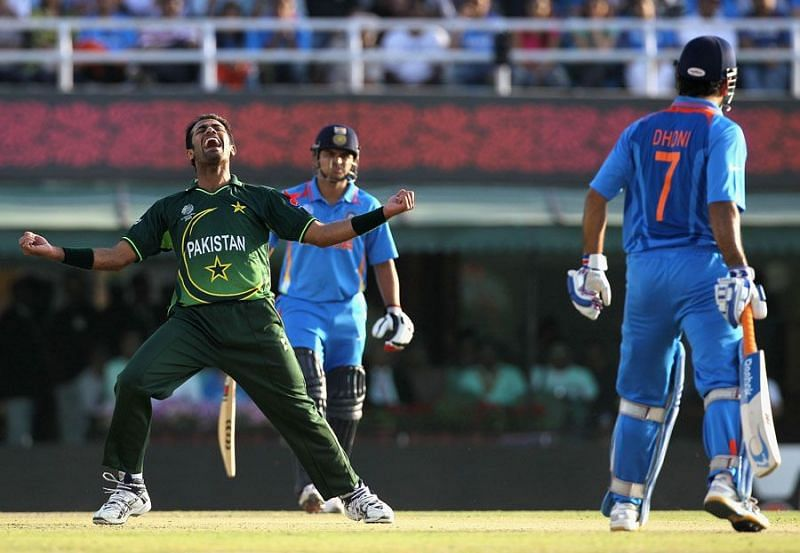 Wahab Riaz ran through the Indian middle order in the 2011 World Cup semi-final