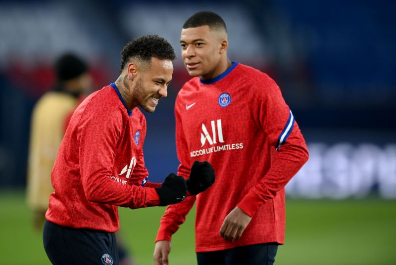 Neymar Jr. and Kylian Mbappe