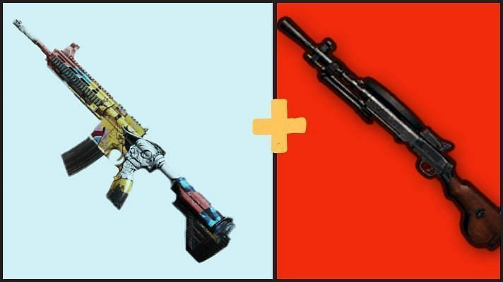 Best mid-range weapons in PUBG Mobile