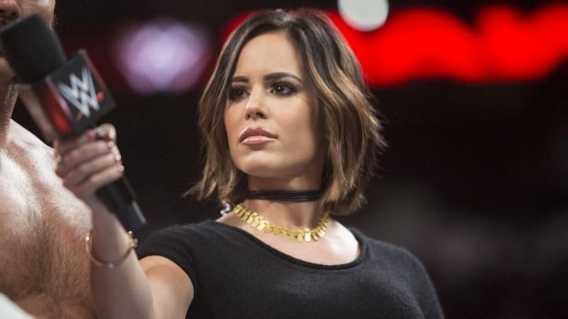 Charly Caruso previously worked for WWE and ESPN at the same time
