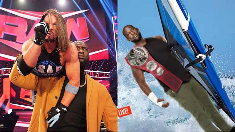 AJ Styles and Omos are a newsworthy tag team.