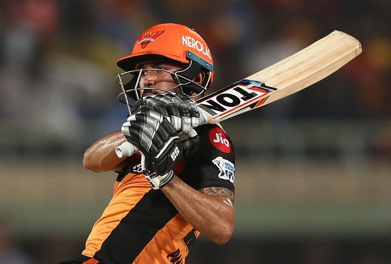 Manish Pandey scored 425 runs in 15 innings for the Sunrisers Hyderabad during IPL 2020