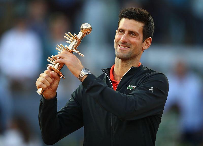 Novak Djokovic won the 2019 edition of the Madrid Masters