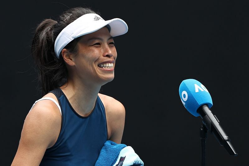 Hsieh Su-wei will need to come up with a better serving perfomance on Thursday.