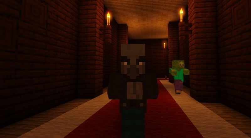 Shown: A scheming Vindicator (Image via Minecraft)