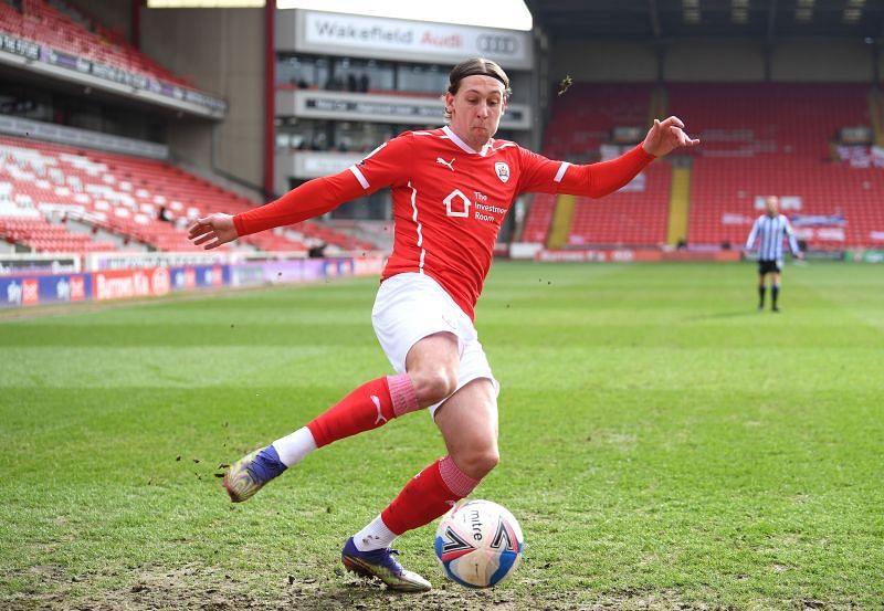 Barnsley play Luton Town on Monday