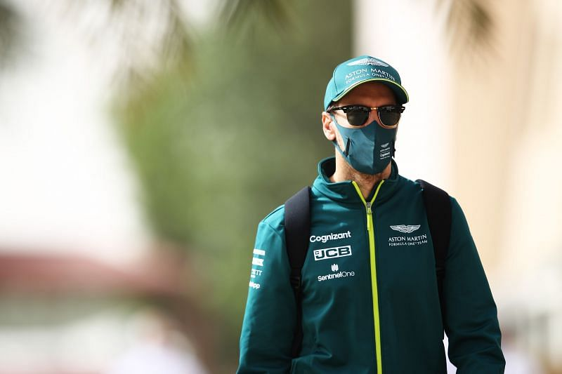 Vettel had a torrid time in Bahrain. Photo: Mark Thompson/Getty Images.