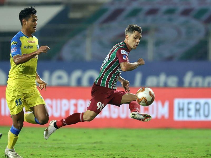 Marcelinho scored on his debut for ATK Mohun Bagan against Kerala Blasters in previous season