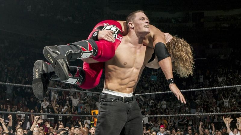 Edge and John Cena feuded throughout 2006