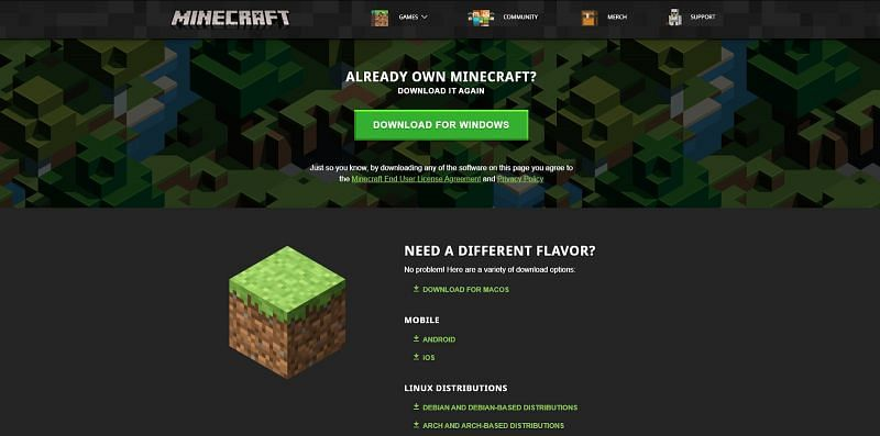 Other versions like the pocket edition or Bedrock will not be able to assist you in the creation of a minecraft server, so make sure you have the proper hardware and software to proceed to the next step.