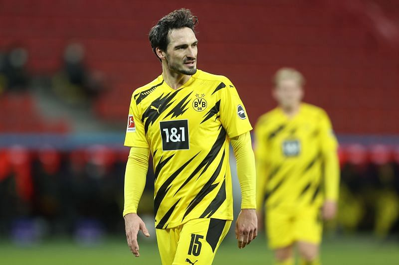 Mats Hummels is suspended for the game