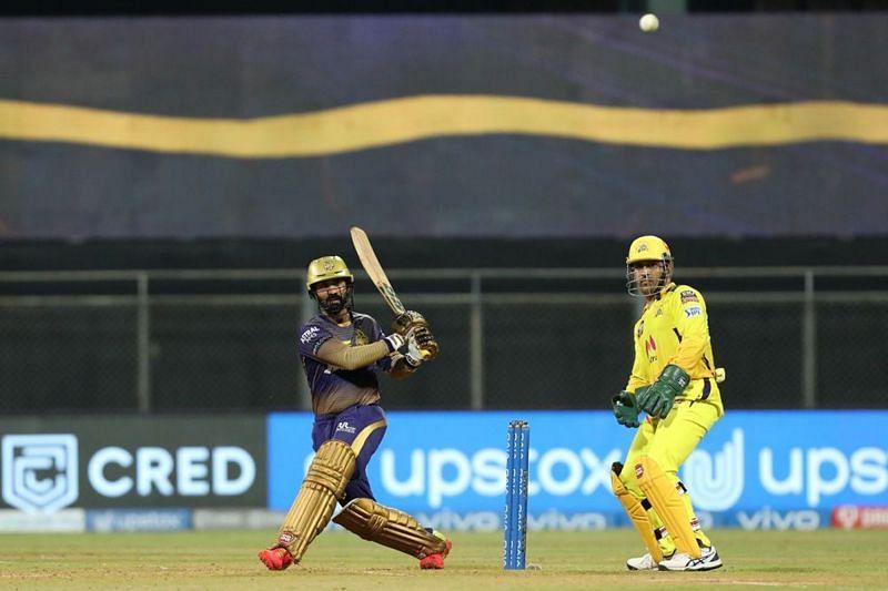 Dinesh Karthik played a fantastic knock against the Chennai Super Kings (Image Courtesy: IPLT20.com)