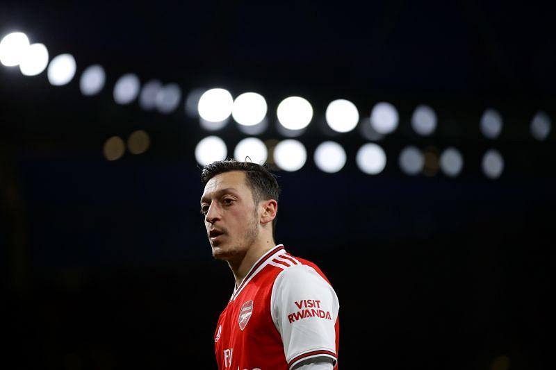 Former Arsenal star Mesut Ozil enjoyed Tottenham