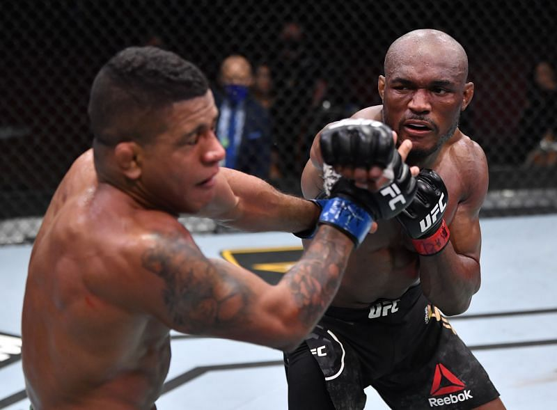 Kamaru Usman will be hoping to finish Jorge Masvidal as he finished Gilbert Burns at UFC 258.