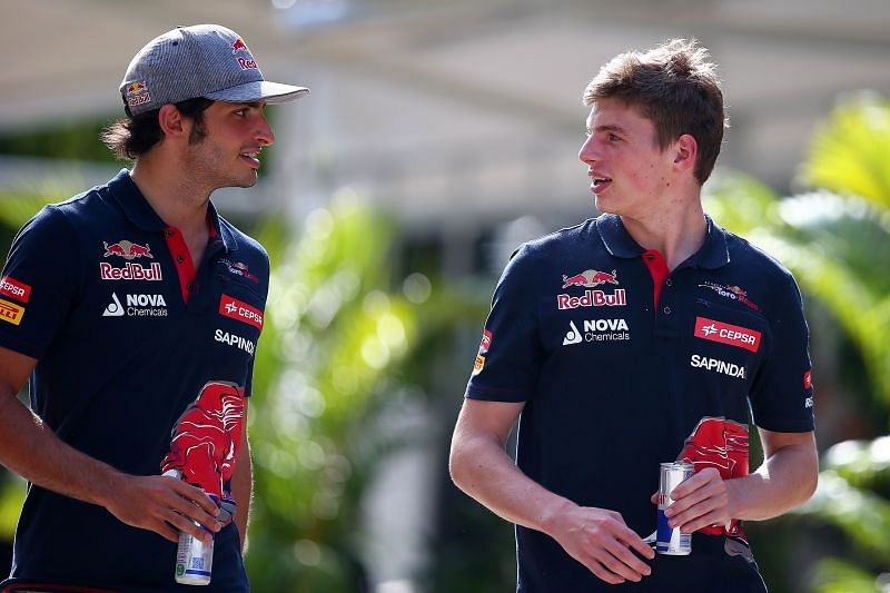 Max Verstappen is the youngest points scorer in Formula 1. Photo: Mark Thompson/Getty Images.