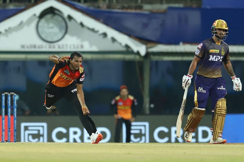 SRH pacer T Natarajan