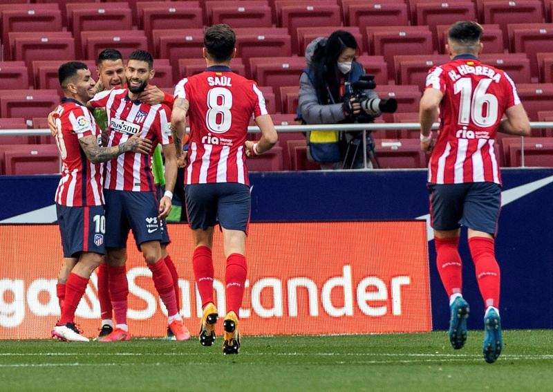 Atletico Madrid have moved three points clear at the top of La Liga after beating Getafe
