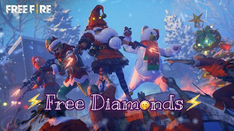Free Fire मुफ्त डायमंड्स
