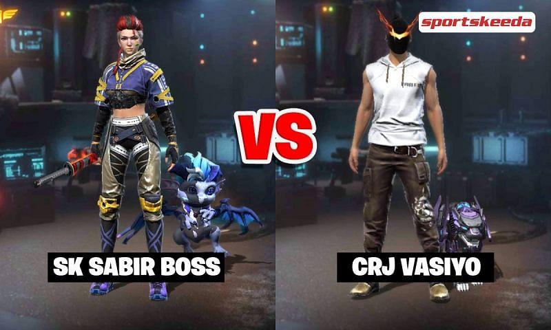 SK Sabir Boss vs CRJ Vasiyo