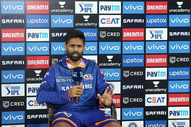 Suryakumar Yadav feels things will change for the Mumbai Indians in Delhi (Image Courtesy: IPLT20.com)