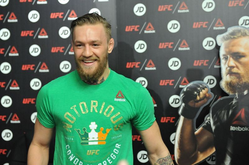Conor McGregor, briefly Reebok