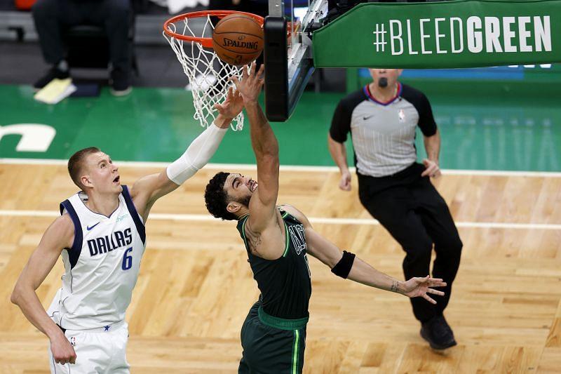 Boston Celtics offensive leader Jayson Tatum