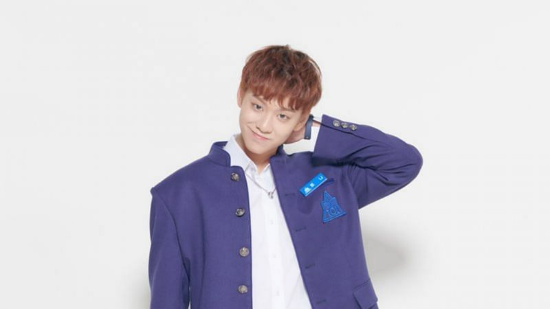 "Tony Yu in a promotional photo for ""Produce X 101"" (Image via Mnet)"