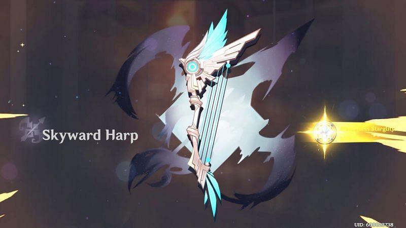 Skyward harp in Genshin Impact