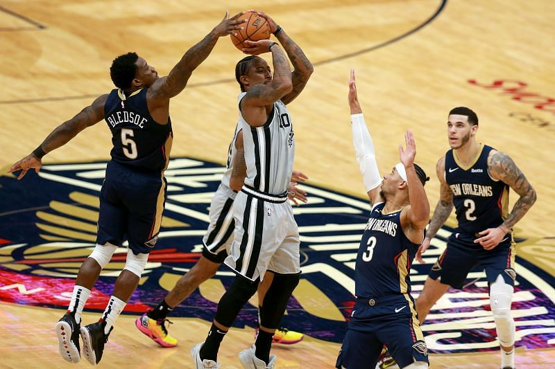 Injury report for the game between the San Antonio Spurs and the New Orleans Pelicans - April 24, 2021