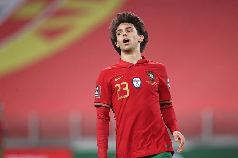 Joao Felix in Portugal colours