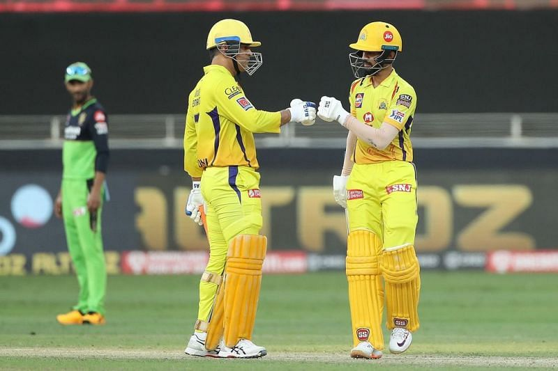 Can Ruturaj Gaikwad (right) impress this season? (Image Courtesy: IPLT20.com)