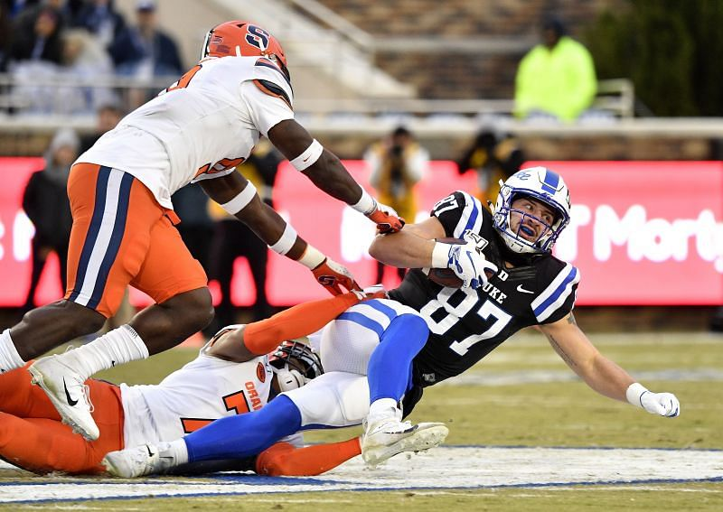 Syracuse Safety Andre Cisco could bring his hard-hitting ways to the NFL next season.