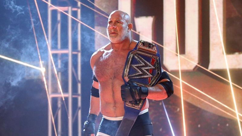 Goldberg last wrestled at the Royal Rumble in January