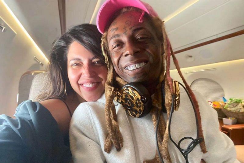 Denise Bidot and Lil Wayne (Image Via People)