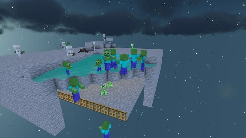 Certain Mobs will chase others, like Slimes chasing Iron Golems, Zombies chasing Villagers, and Zombie Piglins chasing players they're angry at.