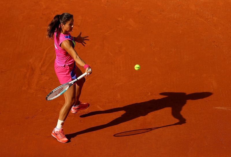 Daria Kasatkina at the 2020 French Open