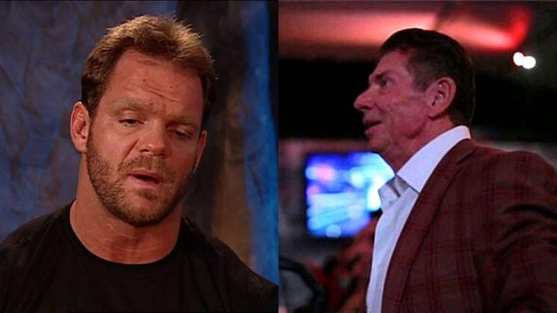 Chris Benoit and Vince McMahon.