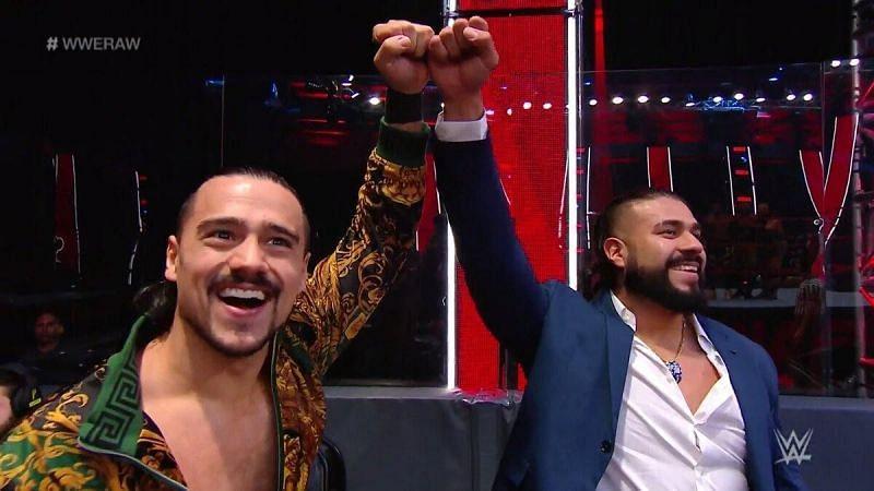 Andrade last teamed up with Angel Garza