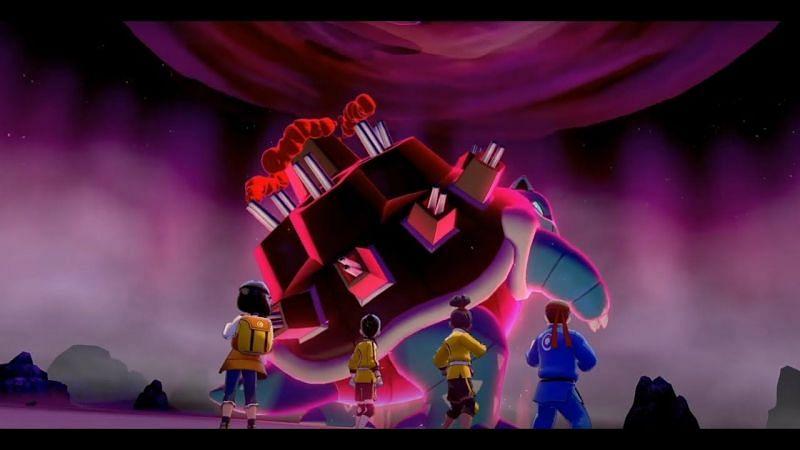 What's a Gigantamax Blastoise