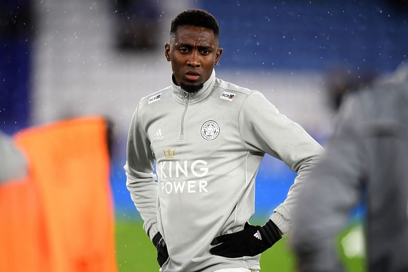 Wilfred Ndidi before a Leicester City game