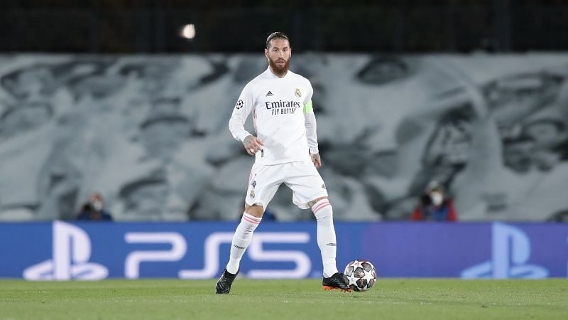 Sergio Ramos remains on the sidelines with a calf strain