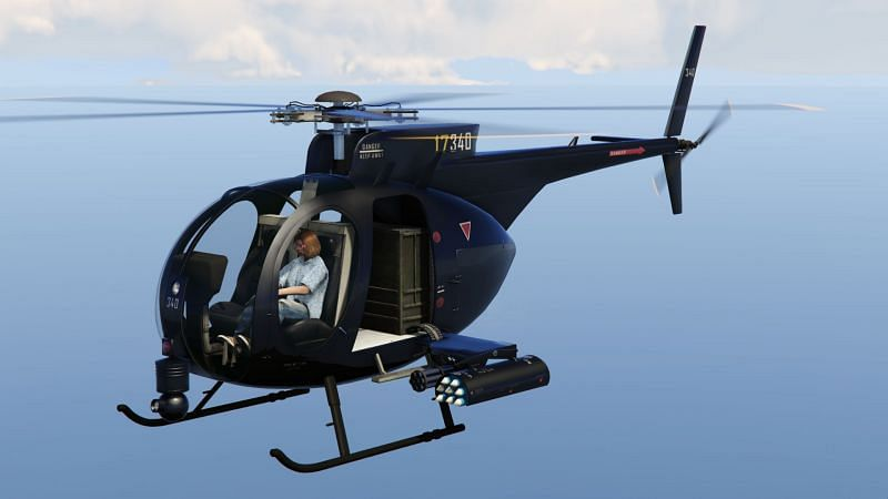 A look at why the Buzzard is one of the crucial vehicles in GTA Online (Image via GTA Wiki Fandom)