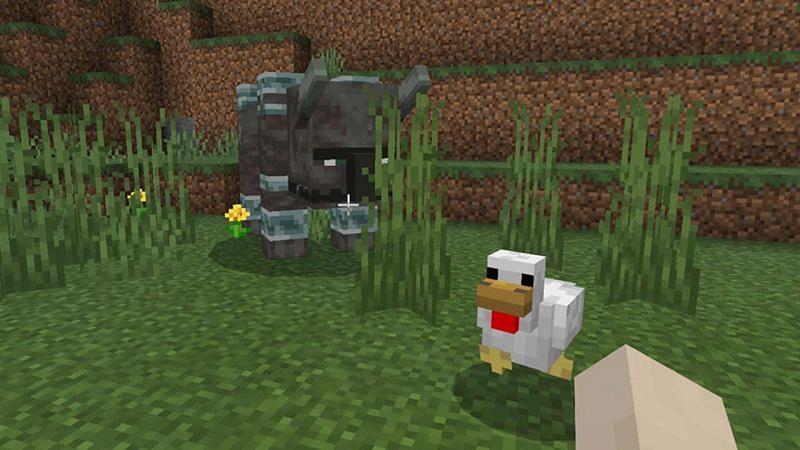 Ravager preparing to attack a duck (Image via gamerheadquarters)