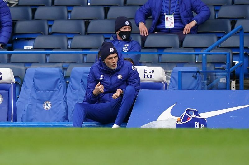 Chelsea manager Thomas Tuchel has a lot to think about.