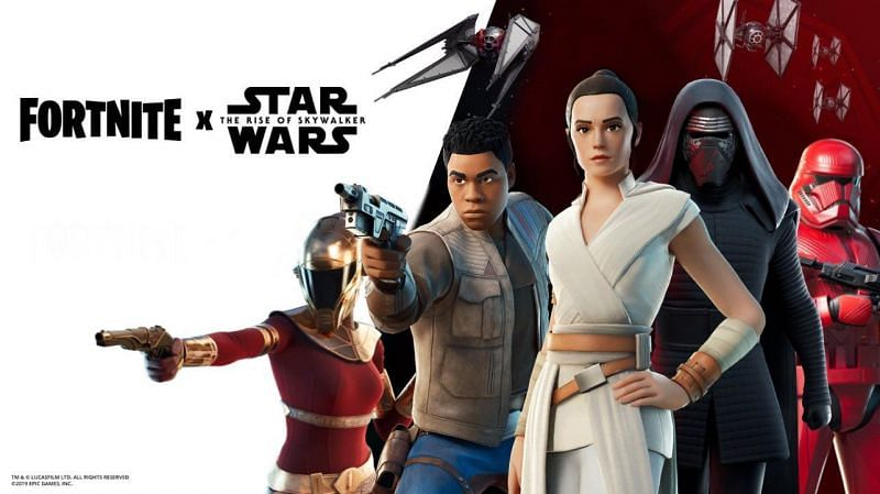 Star Wars May Be Returning to Fortnite {Image via Epic Games}