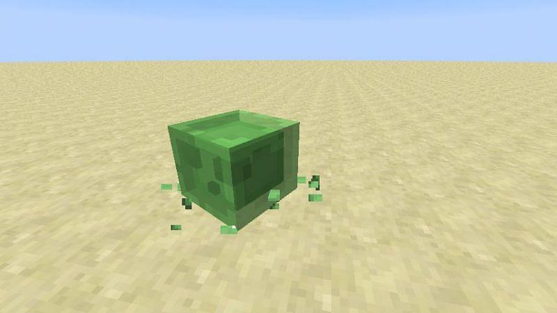 Single slime Minecraft (Image via Minecraft.gamepedia)