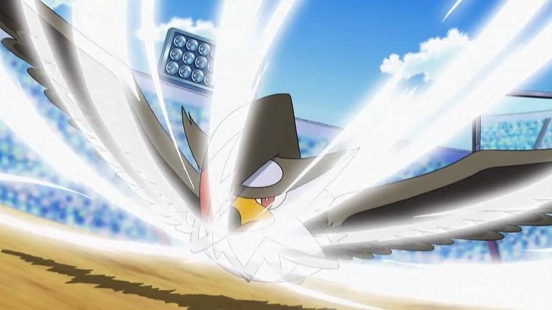 A Pokemon using Aerial Ace in the anime (Image via The Pokemon Company)