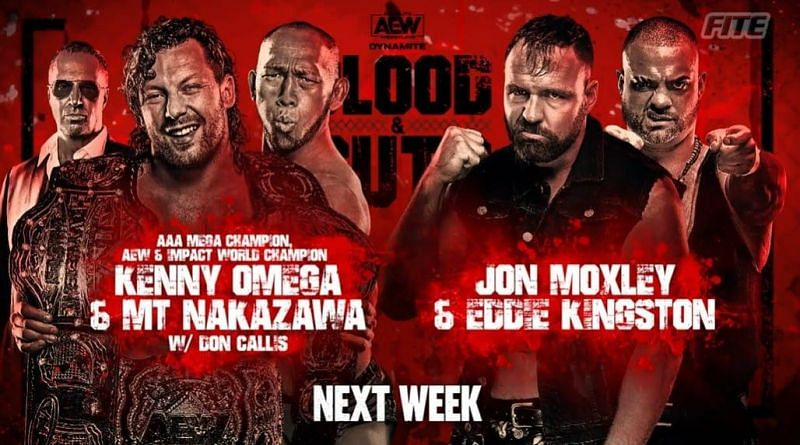AEW Dynamite: Bloods and Guts have a loaded card!