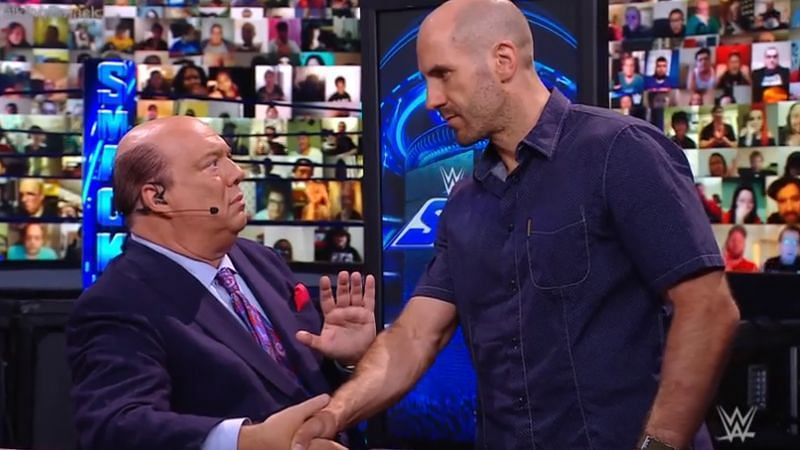 Paul Heyman worked with Cesaro in 2014