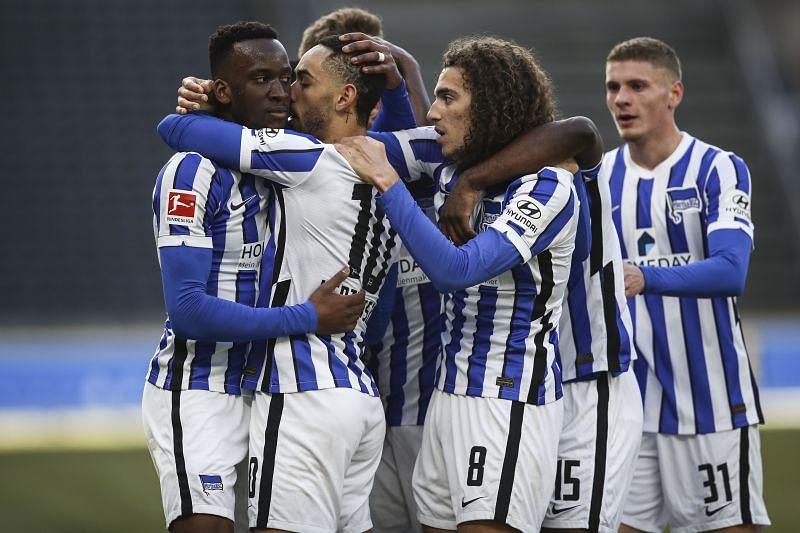 Hertha Berlin play Union Berlin on Sunday